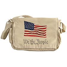 W.T.P. W/Flag Messenger Bag