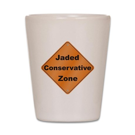 Jaded Conservative Shot Glass