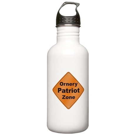 Ornery Patriot Stainless Water Bottle 1.0L