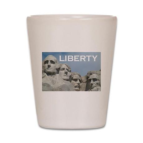 Rushmore/Liberty Shot Glass