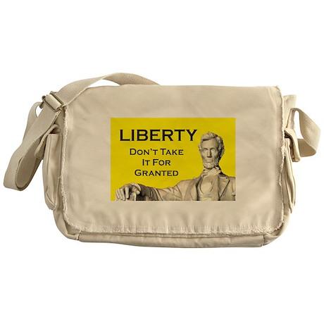 Lincoln/Liberty Messenger Bag
