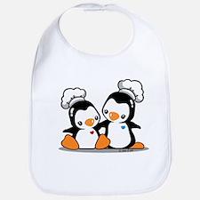 Chef Penguins (2) Bib