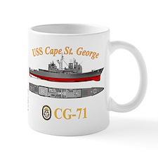 USS Cape St. George (CG-71) Mug