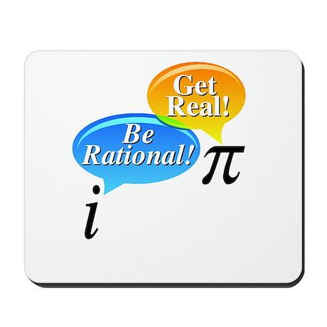 Pi, Get Real! Mousepad