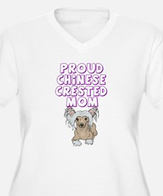 Proud Chinese Crested Mom T-Shirt