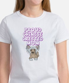 Proud Chinese Crested Mom Women's T-Shirt