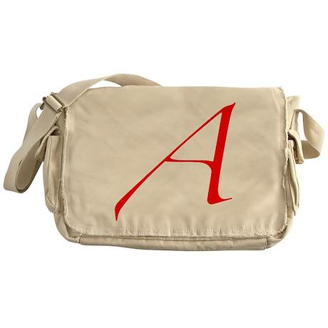 Atheist 'A' Messenger Bag