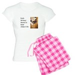 Faith Without Works is Dead Women's Light Pajamas