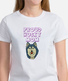 Proud Husky Mom Women's T-Shirt