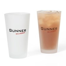 Gunner/Mission Drinking Glass