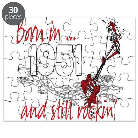 Born in 1951 Puzzle