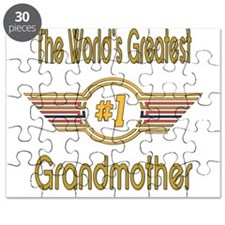 Number 1 Grandmother Puzzle