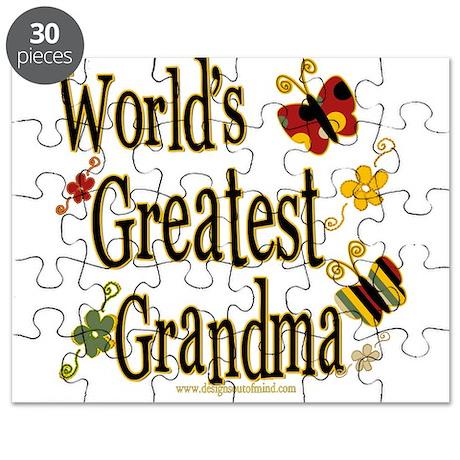 Grandma Butterflies Puzzle