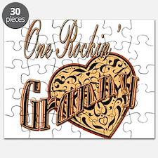 Rockstar Granny Puzzle