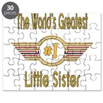 Number 1 Little Sister Puzzle