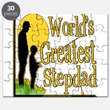 Best Step Dad Fishing Puzzle