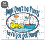 Bunny, Duck and Boat Puzzle