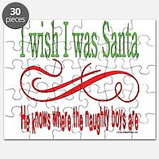 I Wish I Was Santa Puzzle