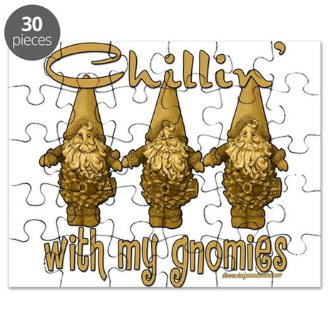 Chillin' With My Gnomies Puzzle