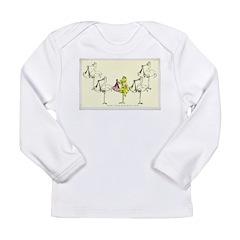Leap Stork Long Sleeve Infant T-Shirt