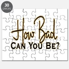 How Bad Can You Be? Puzzle