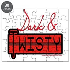 Dark and Twisty Red Puzzle