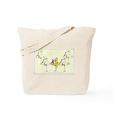 Leap Stork Tote Bag