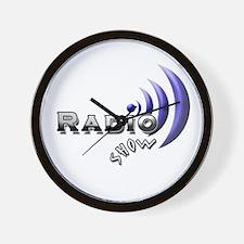 Unique Radio show Wall Clock