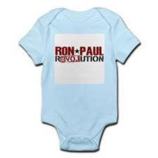 Ron Paul Star Infant Bodysuit