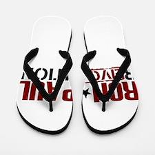 Ron Paul Star Flip Flops
