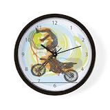 Motorbike Wall Clocks