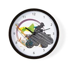 Motocross Wall Clock