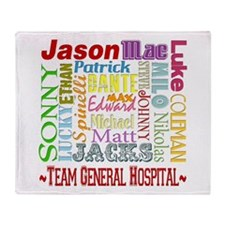 Team General Hospital Throw Blanket