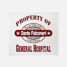 Property of Dante Falconeri Throw Blanket