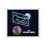 Moonlight Motel Throw Blanket