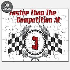 Racing At 3 Puzzle