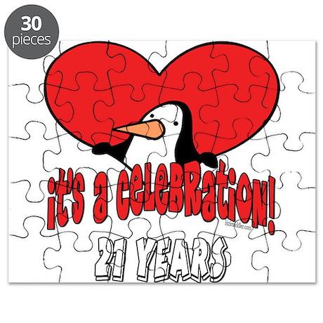 21st Celebration Puzzle