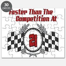 Racing At 21 Puzzle