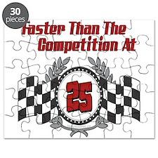 Racing At 25 Puzzle