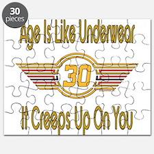 Funny 30th Birthday Puzzle