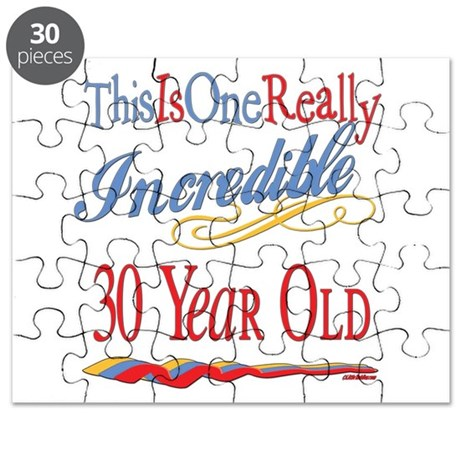 Incredible At 30 Puzzle