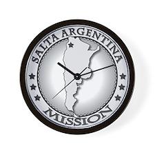 Salta Argentina LDS Mission Wall Clock