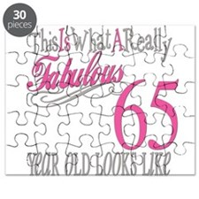 65th Birthday Gifts Puzzle