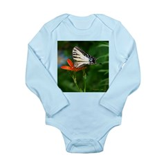 .swallowtail on candy lily. Long Sleeve Infant Bod