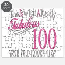 100th Birthday Gift Puzzle
