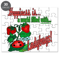 Happiness is a ladybug Puzzle