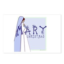 New! Mary Christmas by Svelte.biz Postcards (Packa