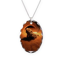 .bearded dragon. Necklace