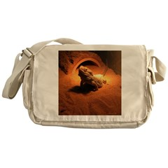 .bearded dragon. Messenger Bag