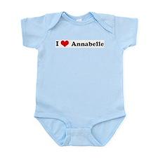 I Love Annabelle Infant Creeper